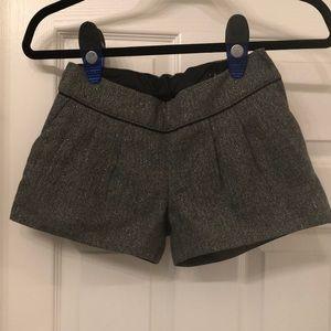 Gap Kids Silver and Black Shorts